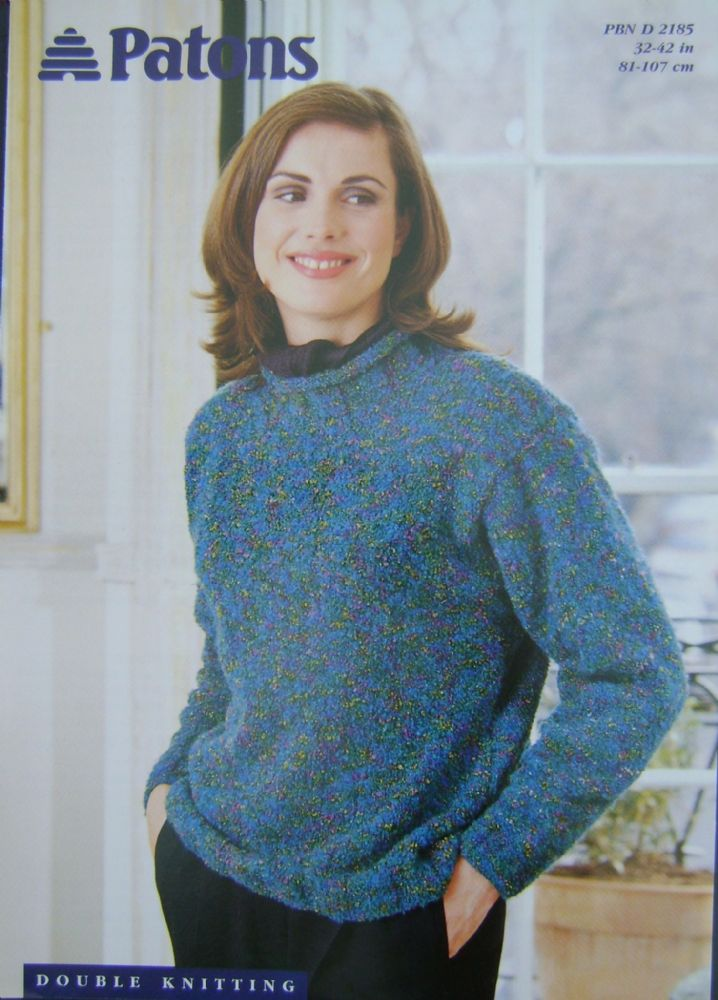 Patons Knitting Pattern 2185
